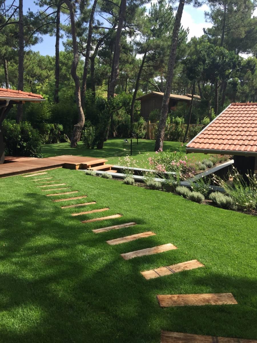Création Parcs Et Jardins Avec Terrassement Maçonnerie